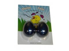 Egg Shakers Metallic Blue