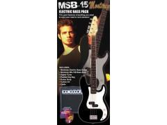 Monterey Electric Bass Guitar Starter Pack