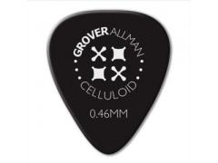 Celluloid Pro Guitar Picks - Standard Shape Black - 25 Refill
