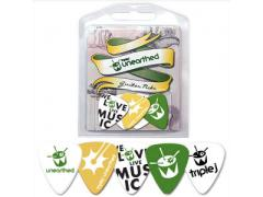 Triple J Unearthed 5 Multi Pack Guitar Picks