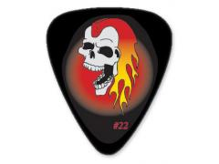 Collectors Series Flaming Skull Guitar Pick