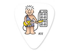 Collectors Series Boneman Guitar Pick