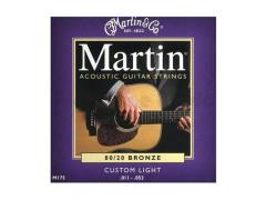 Martin Traditional Phosphor Bronze M535 - 11-52 Custom Light