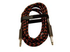 UXL Deluxe Cotton Covered Guitar Lead 3m