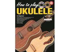 Progressive How to Play Ukulele Book CD & DVD - 15053