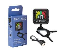 Beam Clip On Rechargeable Metronome/Tuner