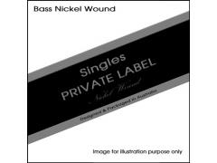 Private Label .045 Bass Nickel Wound Single