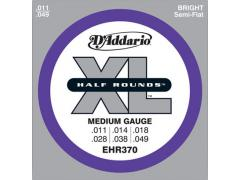 D'Addario Half Round Electric 11-49 Medium - EHR370