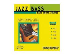 Thomastik-Infeld Jazz Flat Wound Series 4 String - 43-100