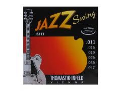 Thomastik-Infeld Jazz Swing Flatwound JS111 - 11-47 Light