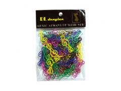Paper Clip Treble Clef Packet of 60