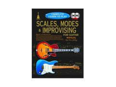 Complete Learn To Play Scales, Modes & Improvising for Guitar Manual - 2 CD CP69386
