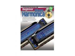 Beginner Blues Harmonica - CD & DVD CP69162