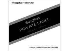 Private Label .052 Phosphor Bronze Single
