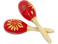 Maracas - Wood Mexican PPM6