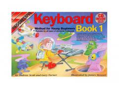 Progressive Keyboard Method for Young Beginners: Book 1 - CD & DVD CP18341