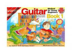 Progressive Guitar Method for Young Beginners: Book 1 - CD & DVD CP18322